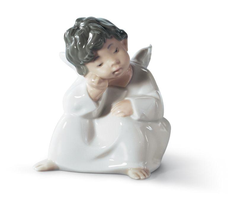 Lladro Inspiration Default Angel Thinking
