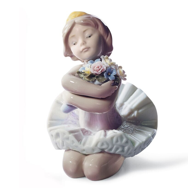Lladro Inspiration Default My Debut Ballet Girl Figurine