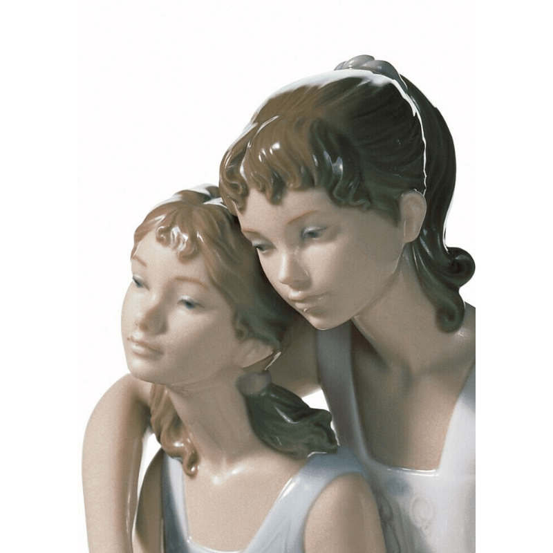 Lladro Inspiration Default My Sister My Friend Figurine