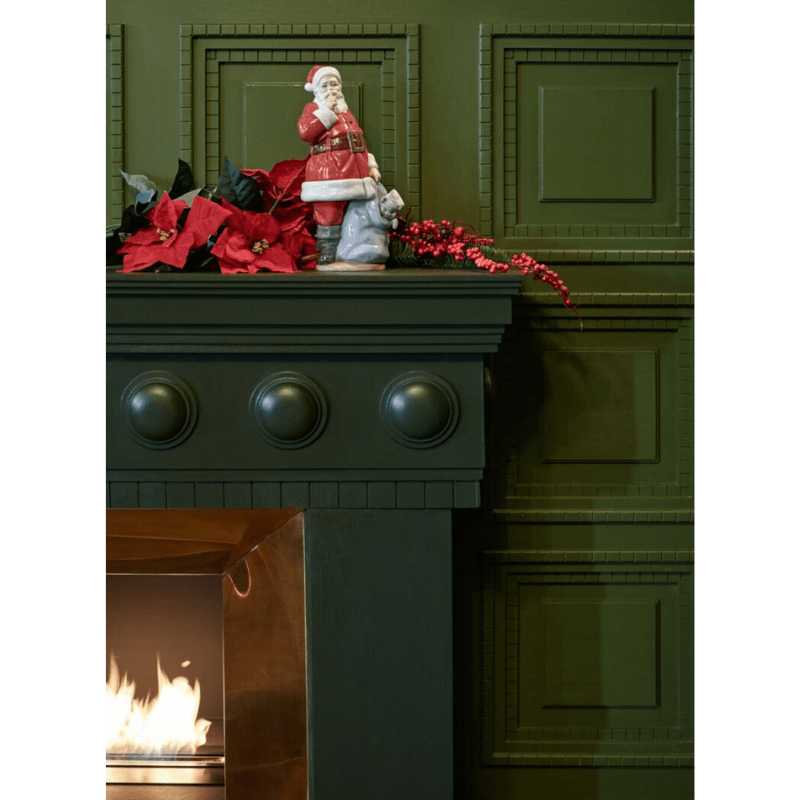 Lladro Inspiration Default Santa is Here Figurine