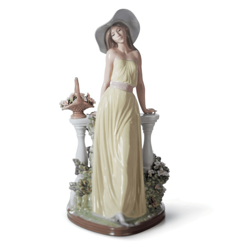 Lladro Inspiration Default Time for Reflection Woman Figurine