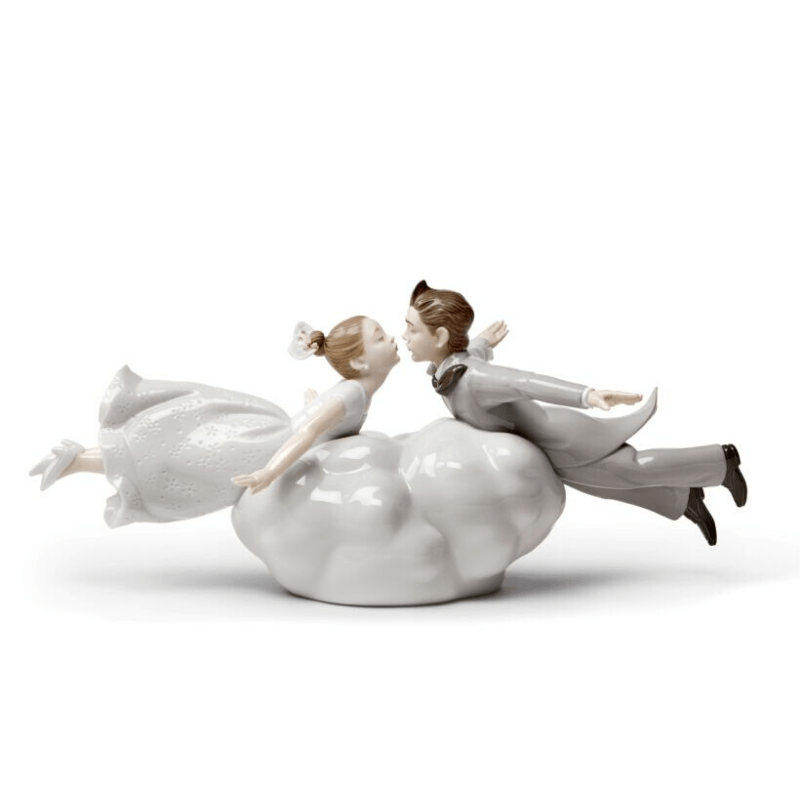 Lladro Inspiration Default Wedding in the Air Couple Figurine