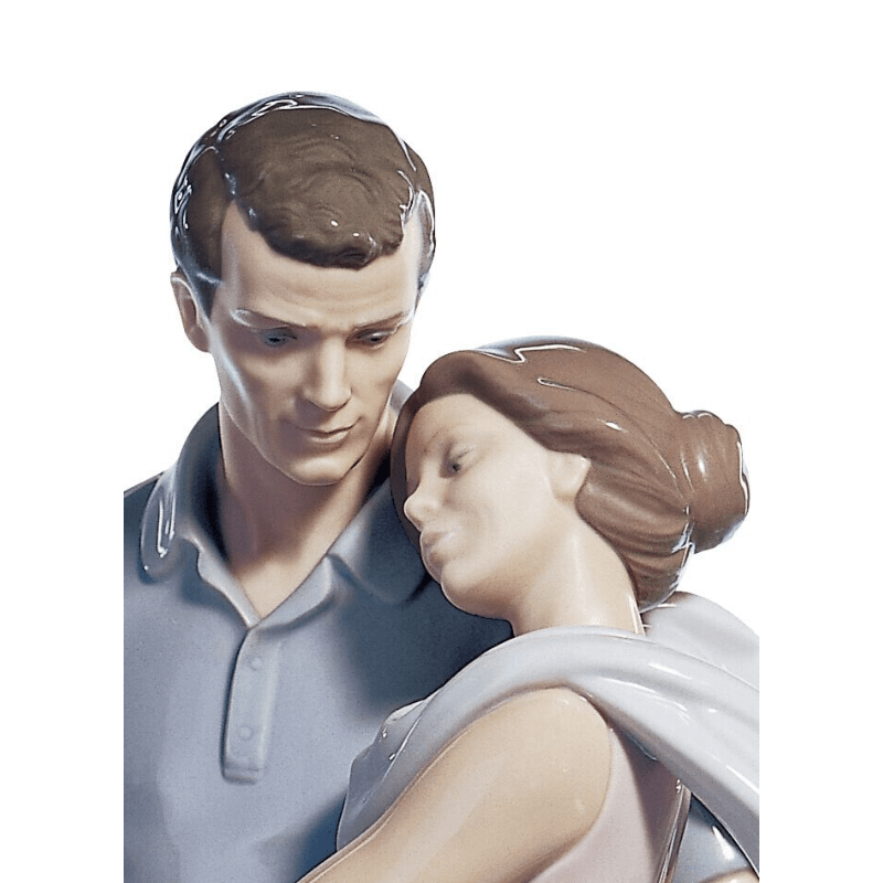 Lladro Inspiration Default You're Everything to Me Couple Figurine