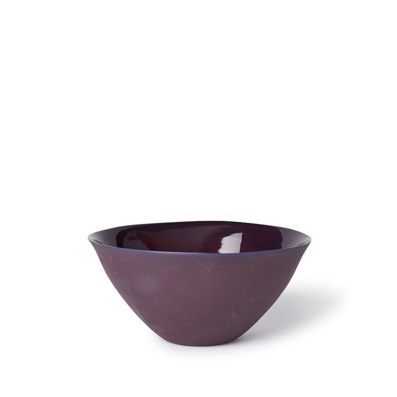 MUD Australia Bowls Plum Flared Bowl Medium