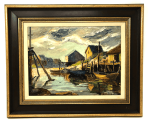 Canadian Hesil Boultbee Painting