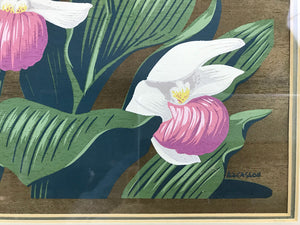 Alfred Joseph Casson Flowers Painting