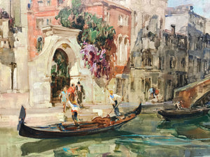 Italian Angelo Brombo Oil Painting