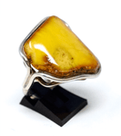 Baltic Butterscotch Sterling Silver Ring