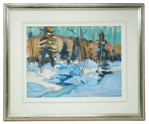 Canadian Betty Galbraith- Cornell Painting