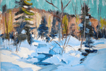 Canadian Betty Galbraith- Cornell 1916- 2012 Painting