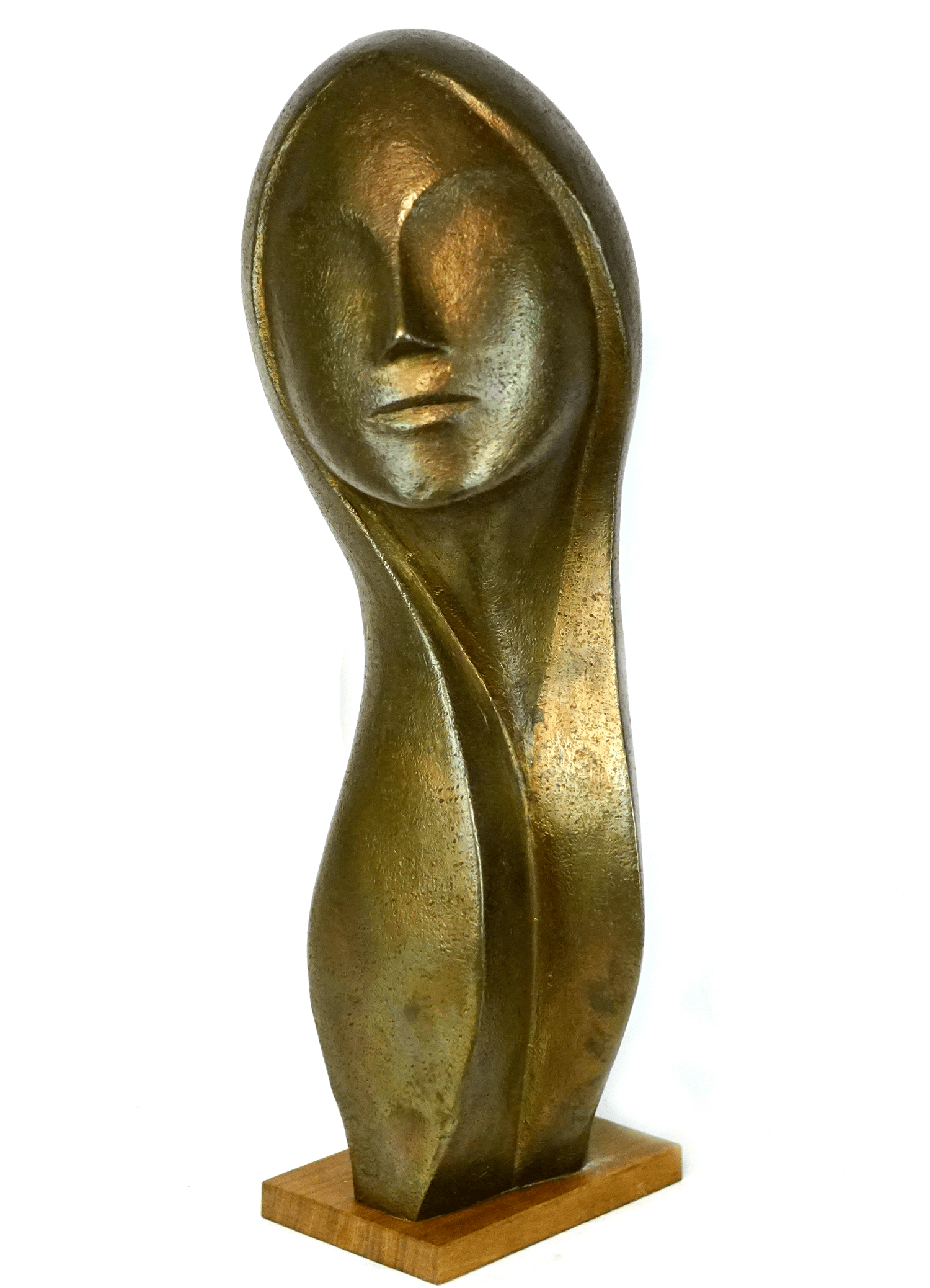 Aristide Gagnon Bronze Figure of a Woman