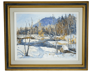 Canadian Painting by Maurice Le Bon