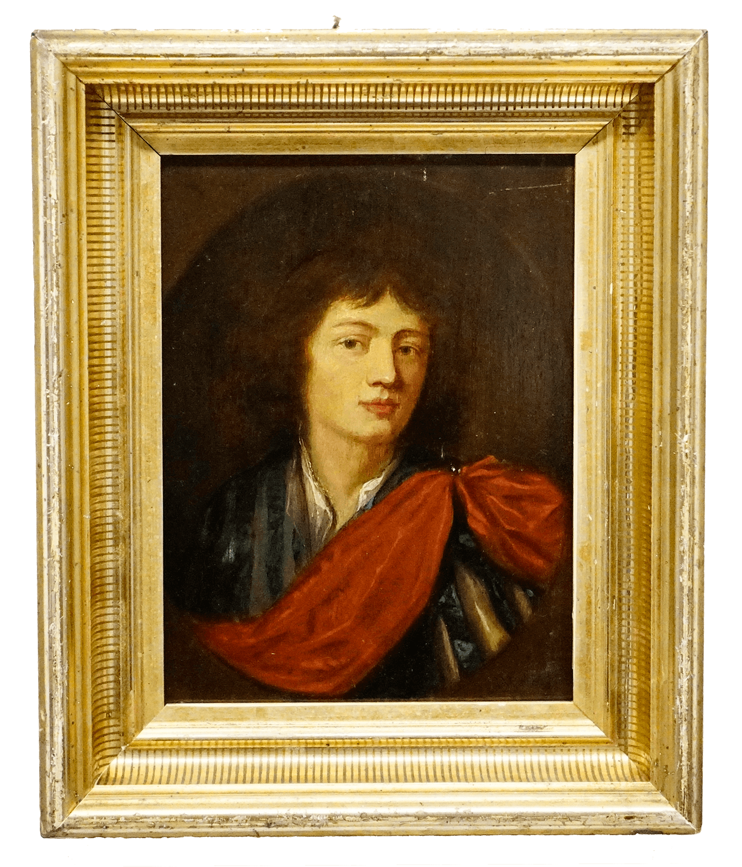 Caspar Netscher Painting Portrait