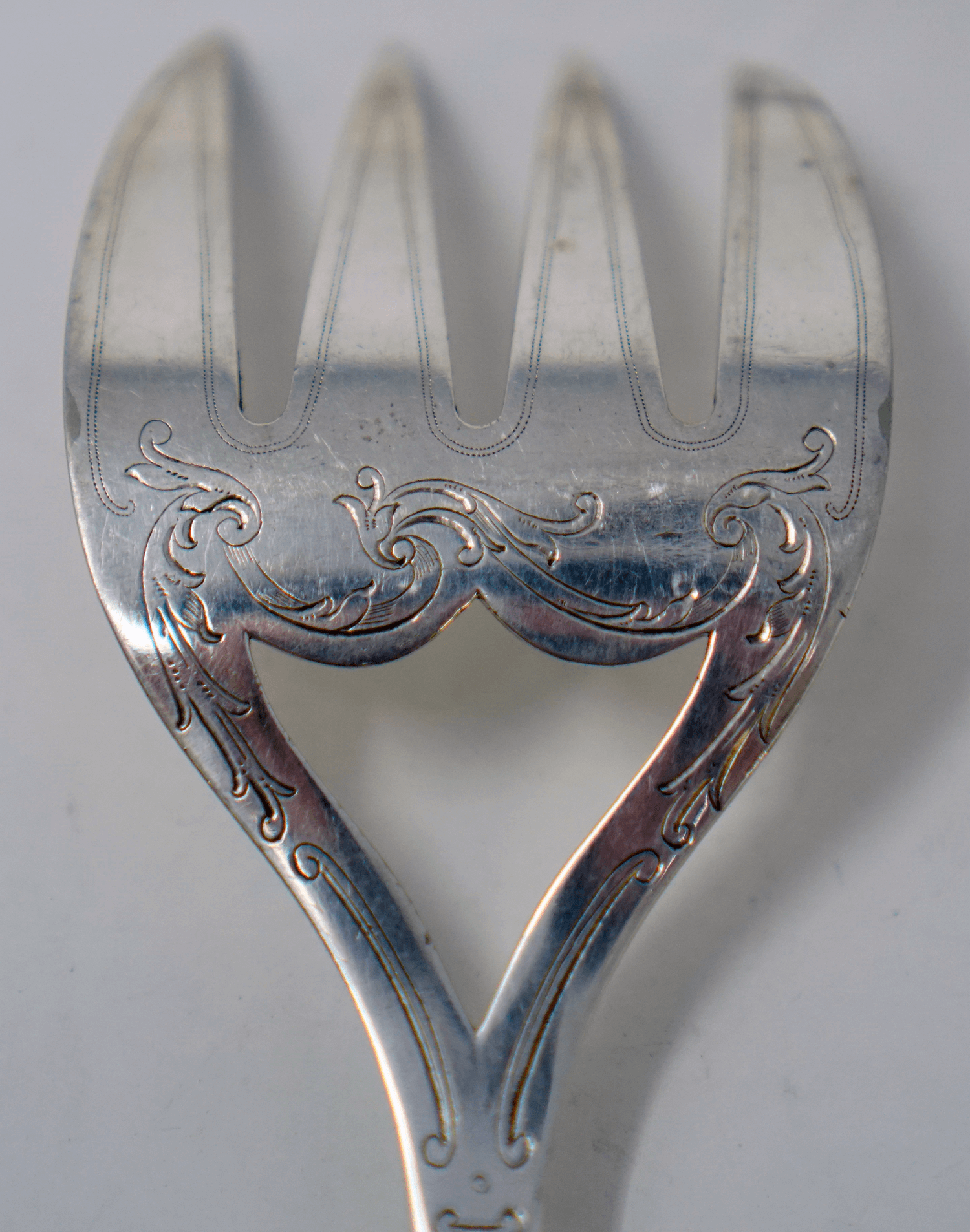 Christofle Silver Plated Antique Fish Servers