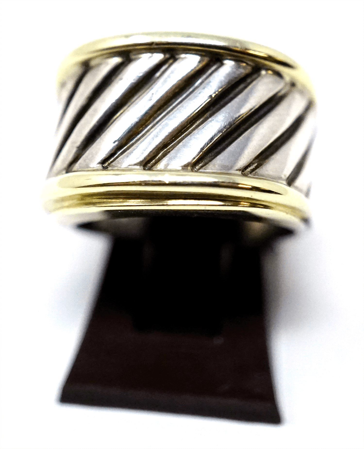 David Yurman Gold & Silver Ring