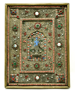 Antique Nepalese Tibetan Plaque