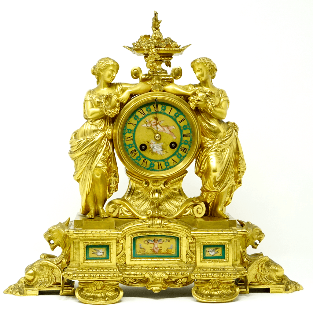 Scottish James Muirhead of Glasgow Mantel Clock