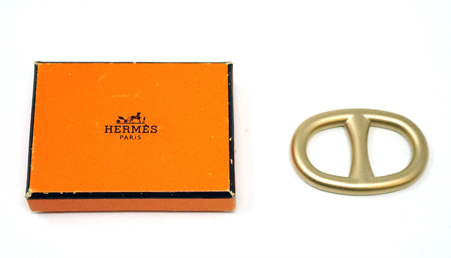 Hermes Paris Scarf Ring