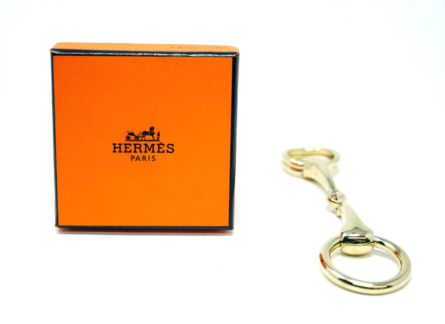 Hermes Paris Permabrass Scarf Ring