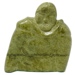 Inuit Eskimo serpentine sculpture of a woman