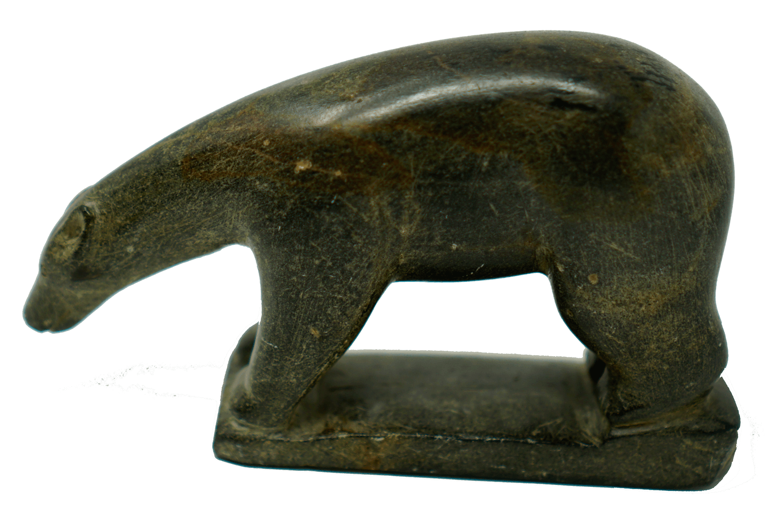 Inuit Soapstone Sculpture by David Isigaitok