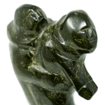Inuit soapstone sculpture by Shuvigar