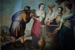 Italian Old Master Wood Panel Painting