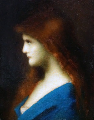 Jean Jacques Henner Oil Painting