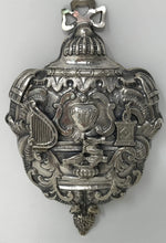 Judaica 17th-18th Century Silver Case