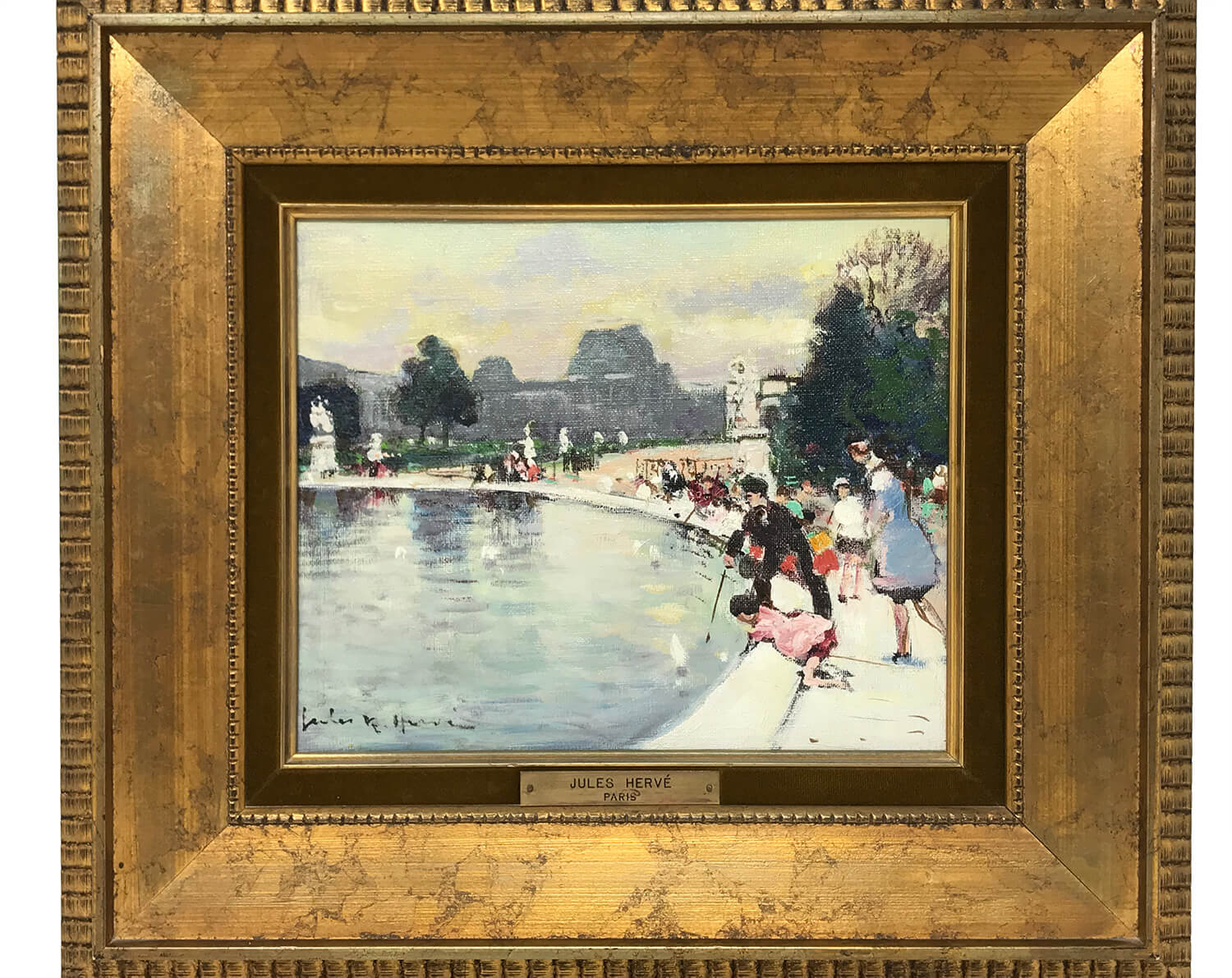 Jules Rene Herve 1887-1981 Painting