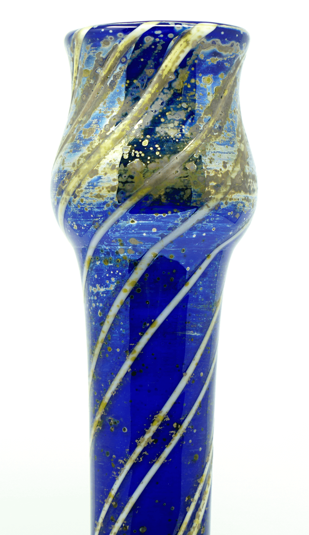 Loetz Egermann iridescent signed vase