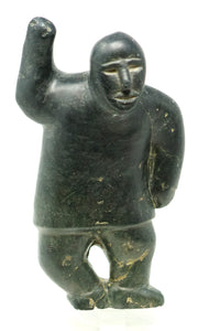 Inuit Statue by Mark Uqayuittuq