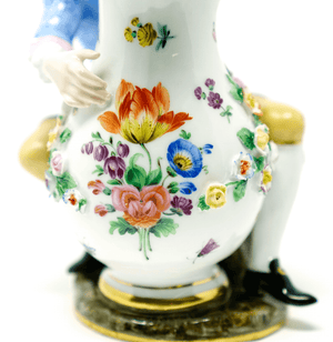 Meissen Man with Jug Figurine