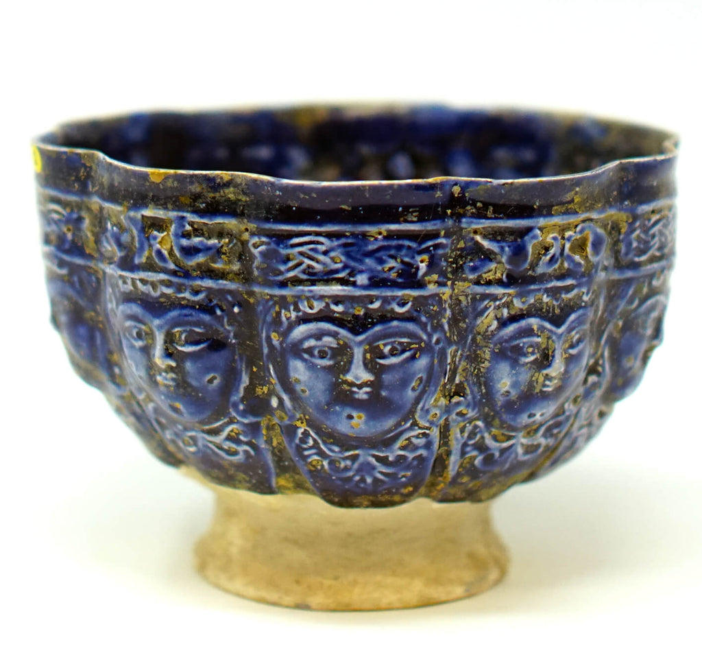 Persian 12th-13th Century Monochrome Bowl