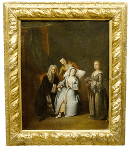 Attr. Pietro Longhi Old Master Painting The Faint