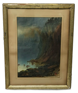 Sanford Robinson Gifford Watercolor Painting