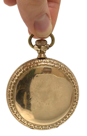 American Waltham Gold Plated Pocket Watch