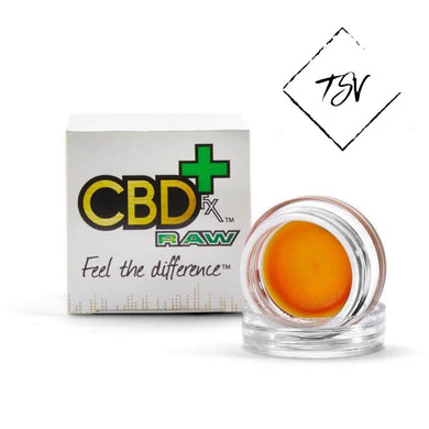 CBD FX Wax – Concentrated Dabs - 1 Gram