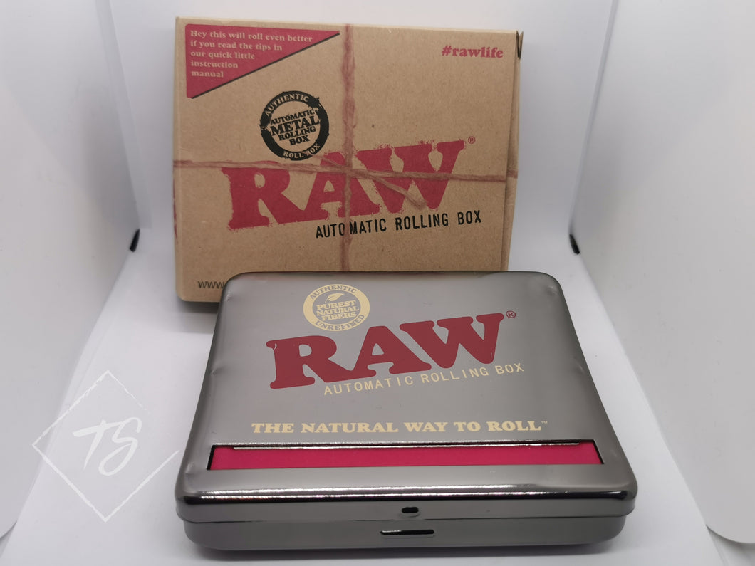 Supreme Quality RAW Automatic Rolling Box - King Size