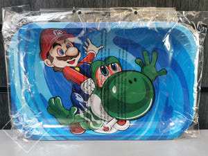 Super Mario Metal Rolling Tray (10.8″ x 6.8″)