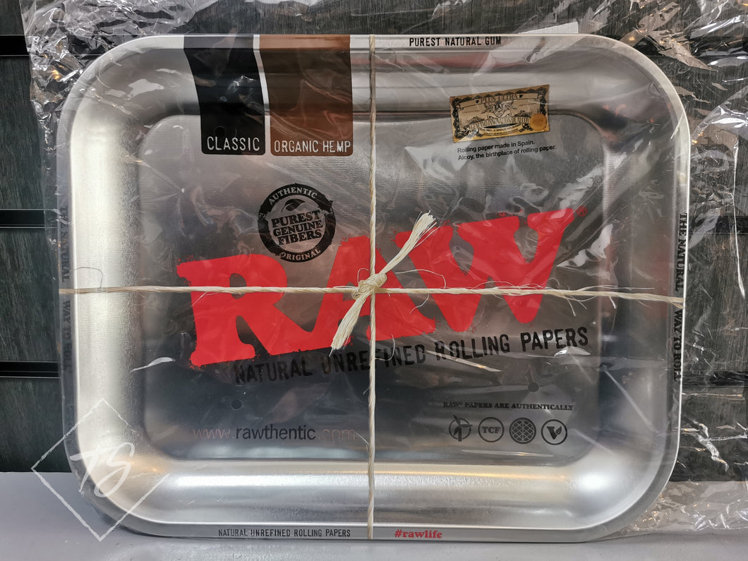 Raw Metal Big Tray