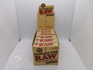 Raw Gummed Tips Perforated