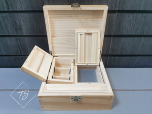Wooden Rolling Box XL