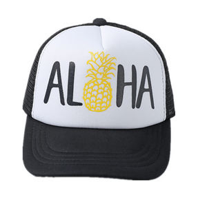 Pineapple Aloha Trucker Hat