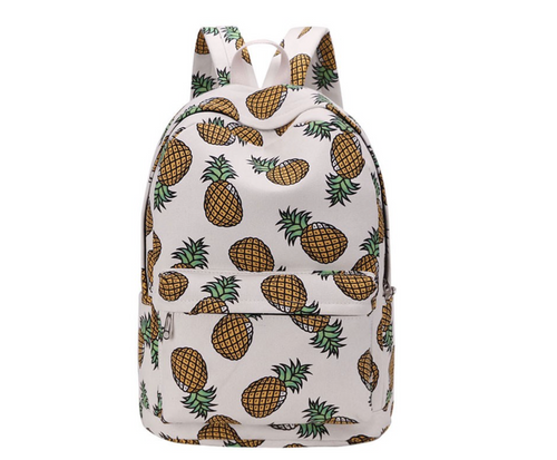 Pineapple Backpack Color Prints