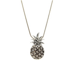 Pineapple Antique Necklace & Earrings Set