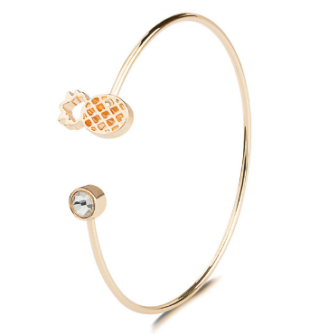Pineapple Women's Bracelet Cuff Bangle