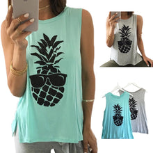 Pineapple Cool Shades Tank Top