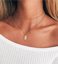 Pineapple Simple Gold Necklace