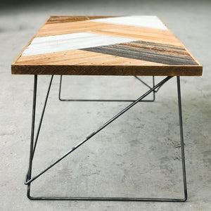 Geo Table #1 - Wall Woodworking